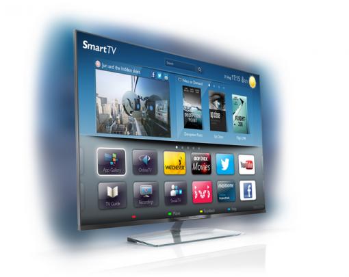 Televizor LED Smart TV 3D Philips, 151 cm, Elevation, Full HD, 60PFL8708 - eMAG.ro