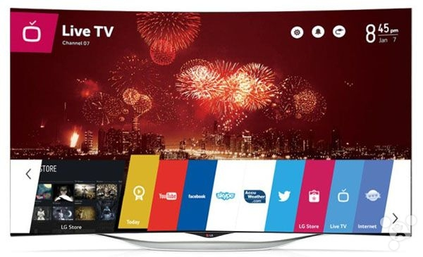 webos LG tv 3
